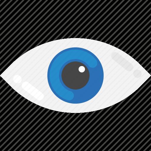 eye view, human eye, looking, monitoring, open eye icon