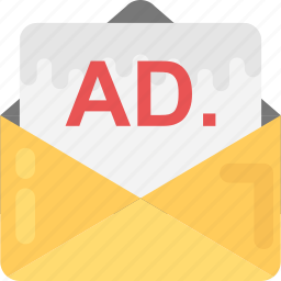 content curation, digital marketing, email advertising, email marketing, marketing correspondence icon