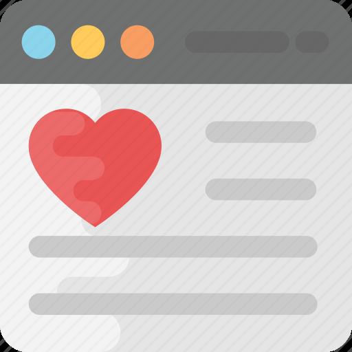 customer feedback, online rating, website heart rating, website ranking, website rating icon