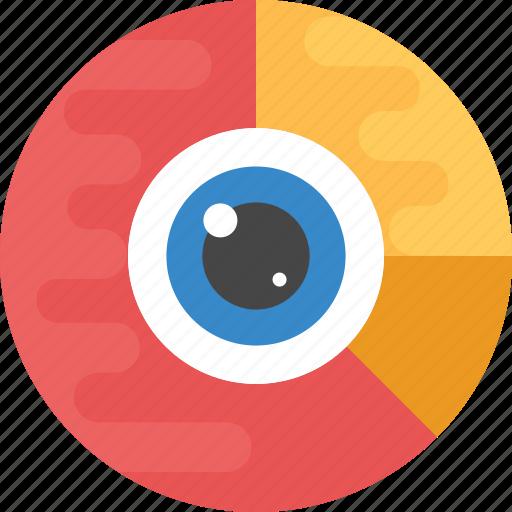 Data Analysis Data Analytics Eye Inside Pie Chart Statistical