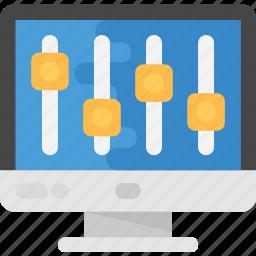 browser preferences, website development, website optimization, website preferences, website settings icon