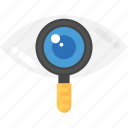 inspect, monitoring, review, search, survey icon
