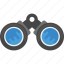 binocular, discovery, lens, view, vision icon