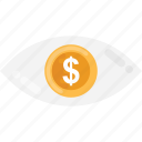 cash, coin, dollar coin, money, saving icon