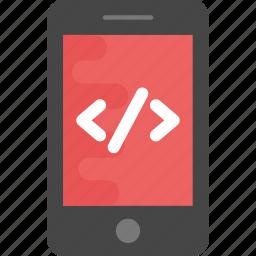 mobile app development, mobile internet service, mobile programming, mobile web development, mobile website icon