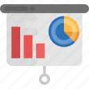 business analysis, business monitoring, business presentation, finance, statistics icon