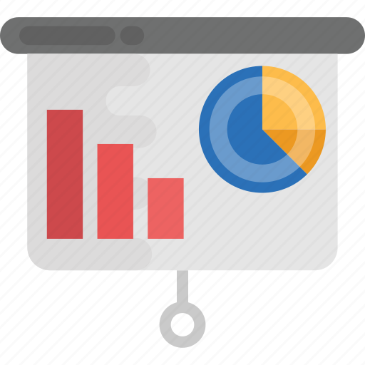 business analysis, business monitoring, business presentation, finance, statistics icon