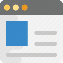 browser, domain, internet site, site, website icon