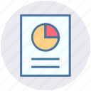 chart, graph, marketing, page, paper, report, seo icon