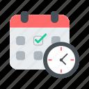 calendar, installment, organizer, reminder, schedule, time icon