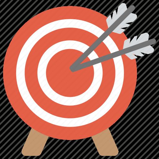 aim, archery target, goal, shot at target, target icon