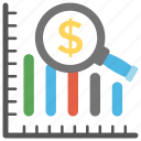 business development, financial growth, increase graph, profit analysis, sales growth icon