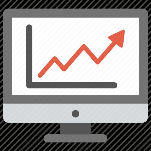 adwords, online graph, web analytics, web ranking, web rating icon