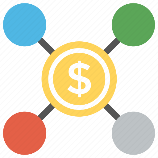 earn money network, earn money online, make money online, online business, ppc concept icon