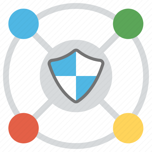 information security, network integration, network protection, network security, web security icon