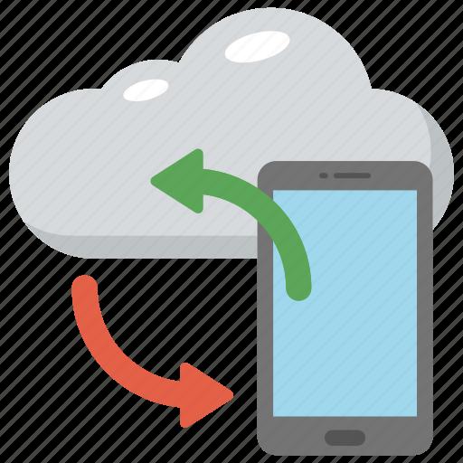cloud backup, cloud computing concept, cloud network, cloud storage, data synchronization icon