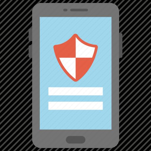 login security, mobile app security, mobile login ui, mobile phone security concept, secure login icon
