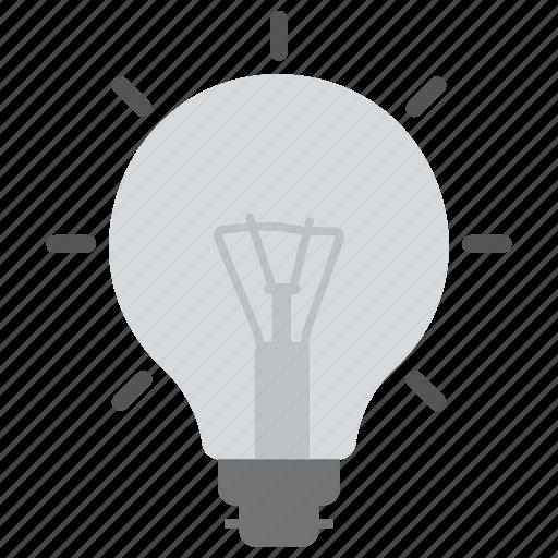 bright bulb, idea, light bulb, marketing, marketing idea icon