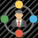 digital marketing manager, marketing management, marketing manager, seo expert, virtual marketing manager icon