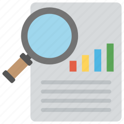 market analysis, market research, market survey, marketing report, marketing theory icon