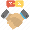 big deal marketing, business deal, business handshake, marketing deal, relationship marketing icon