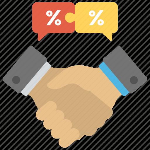 big deal marketing, business deal, business handshake, marketing deal, relationship marketing icon