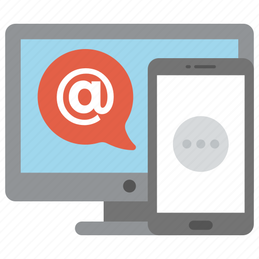 commercial message, digital, email marketing, internet marketing, marketing, online marketing icon