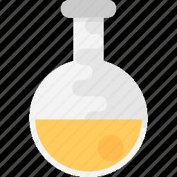 analysis, analytics, lab glassware, research, survey icon