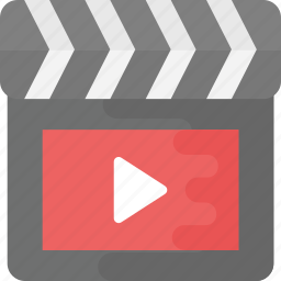 clapperboard, media production, movie, multimedia, video icon