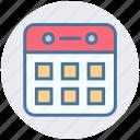 calendar, event, marketing, months, schedule, seo, year icon