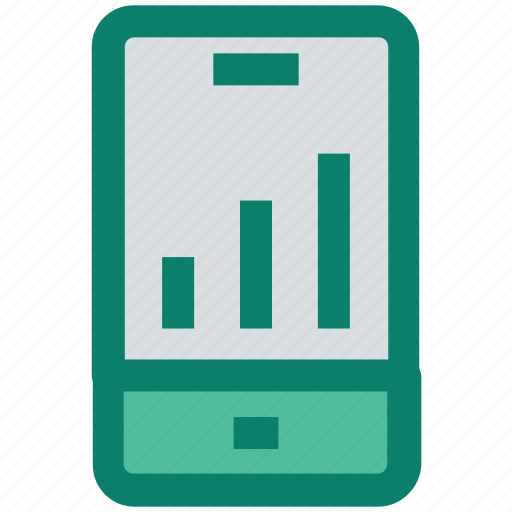 cell, graph, info graphic, mobile, online graph, seo, smartphone icon