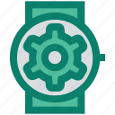 apple watch, gear, marketing, seo, smart watch, time, watch setting icon