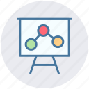 board, diagram, graph, marketing, seo, seo analysis, seo graph icon
