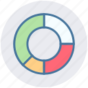 business, chart, pie, pie chart, seo analysis, services, statistics icon