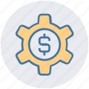 business, cogwheel, dollar, gear, money, seo, setting