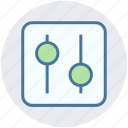 level, seo, setting, tune, tuning, volume icon