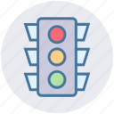 light, road, signal, stop, stoplight, traffic, transportation icon