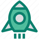 campaign, launch, marketing, missile, rocket, seo, startup icon