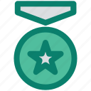 achievement, award, favorite, medal, prize, star, winner icon