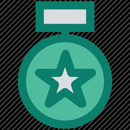 achievement, award, favorite, medal, prize, star, winner icon