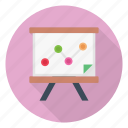 analytic, board, chart, graph, presentaion icon