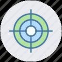 aim, aspirations, business goal, crosshairs, hunting, market target, targeting