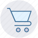 cart, empty trolley, plain, shop, shopping, shopping trolly, trolley