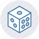 dice, gambling, game, luck, marketing, miscellaneous, seo icon