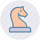 business, chess, horse, marketing, planning, seo, strategy icon