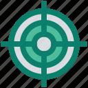 aim, aspirations, business goal, crosshairs, hunting, market target, targeting icon