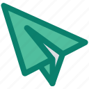 email, flying, letter, paper, paper plane, send, seo icon