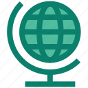 earth, environment, globe, planet, stand, world icon