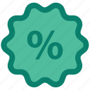 discount, discount offer, discount tag, offer, percentage, seo, tag icon