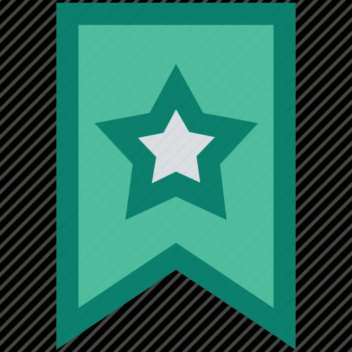 achievement, award, best, favorite, medal, ribbon, star icon